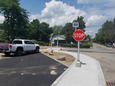 Oak Hill Road Intersection #1
