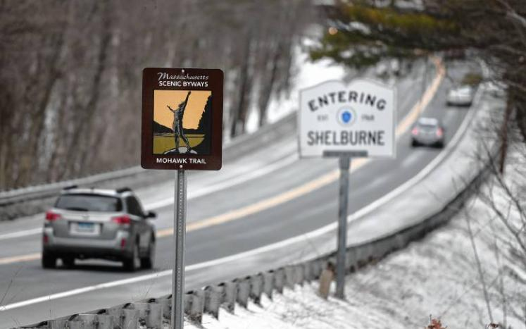 Rt 2 Scenic Byway Sign